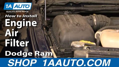 install repair replace change engine air filter