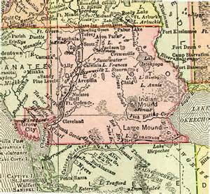 map of desoto county florida desoto county 1895