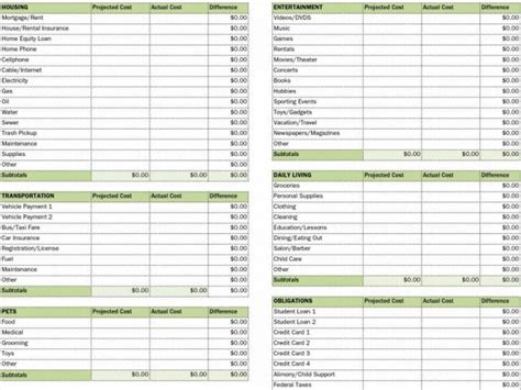 free excel accounting templates small business small