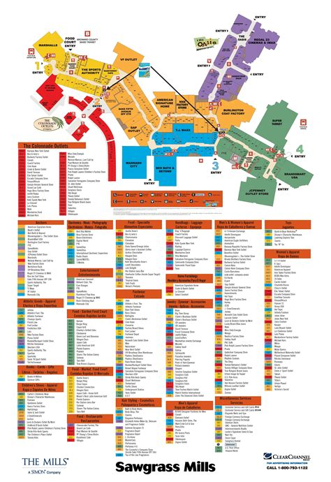 layout of sunrise mall sawgrass mills mall going to need this map next week