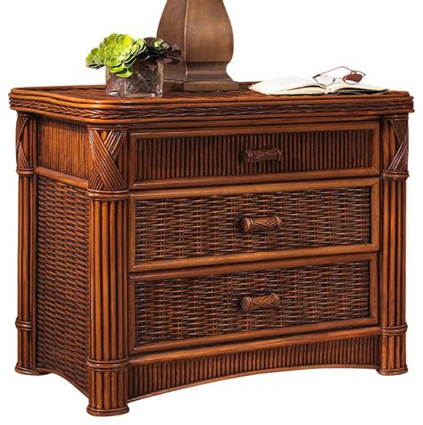 Wicker Drawer Chest by Rattan Chest Barbados 3 Drawer Tropical Furniture
