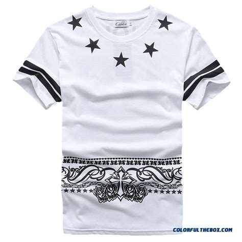Tshirt Cuoka Hip Hop Limited 1 cheap cuoka brand hip hop pyrex t shirt 09 printed t shirt hba cashew rock t shirts for