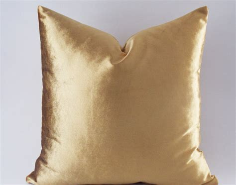 Gold Throw Pillow Covers velvet solid gold pillow covers decorative velvet pillows