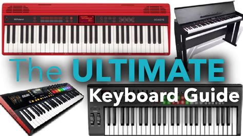 best keyboard to learn piano the ultimate piano keyboard buyer s guide best piano tips