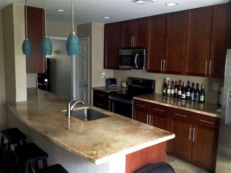 photos of beautiful seamless epoxy countertops kitchen