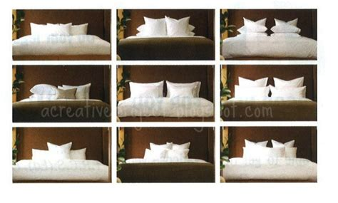 how to arrange pillows on king bed a creative project how to arrange pillows on bed