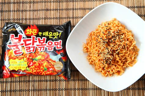 Mie Ramen Spicy Samyang who knew instant ramen could go so wrong insert title here