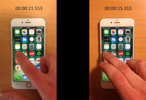 iphone battery replacement near me the iphone 6s performance tested before and after the replacement of the battery chain