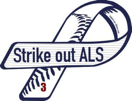 custom ribbon strike out als als awareness we need a