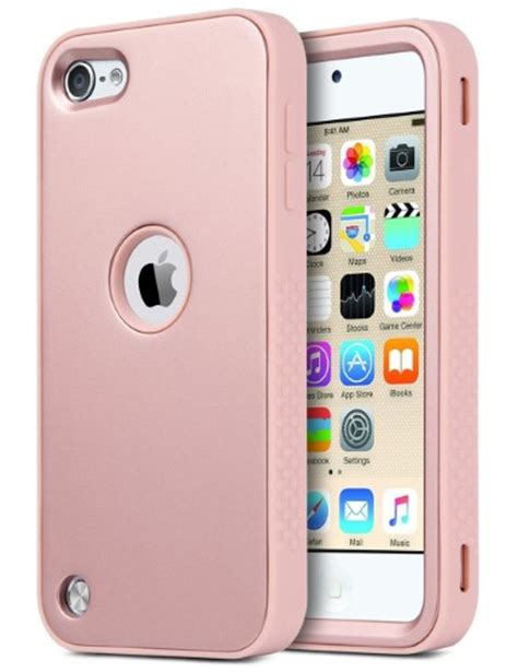Hardcase Pc Soft Touch Doff Gold Cover Casing Iphone 7 Plus ipod touch 6 ipod touch 5 ulak shock absorbing series 3 layer hybrid dust scratch