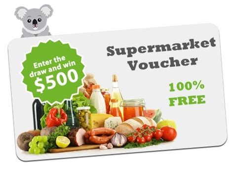 Bunnings Gift Card Coles - voucher coupon free gift for australia and new zealand koalavoucher com