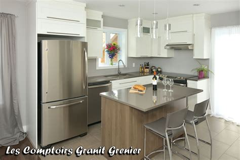 cuisine et comptoir comptoir de cuisine quartz blanc obasinc com
