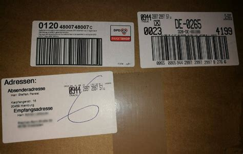 Paketschein Online Drucken by Ohne Ausdrucken Dpd Paketschein F 252 Rs Smartphone