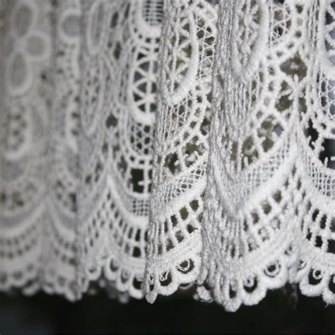 White Lace Curtains Lace Valences Images Frompo 1