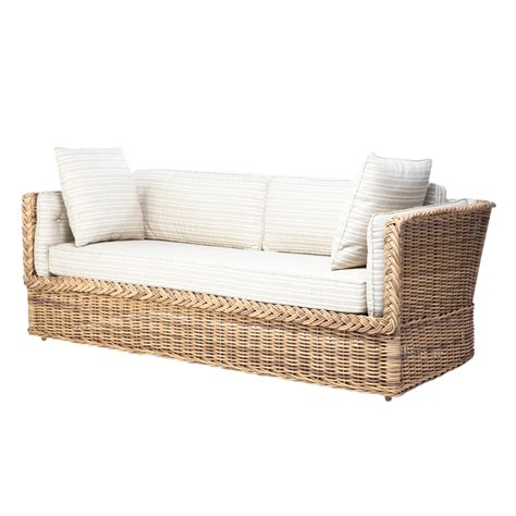 rattan daybed create the cozy outdoor with wicker daybed ideas