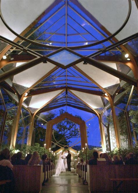 Beautiful Wedding Chapel Los Angeles California, Glass