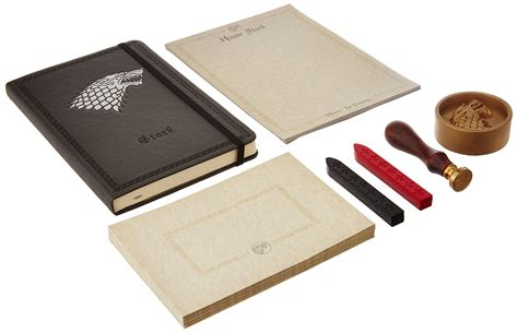 outlander deluxe stationery set books galleon of thrones house stark deluxe stationery