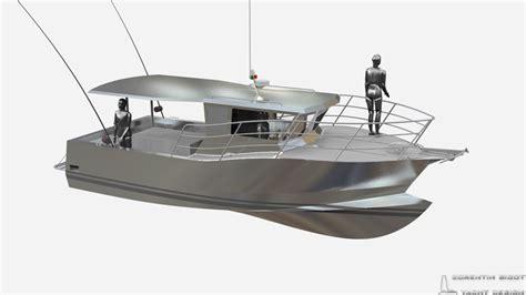 aluminum fishing boat design corentin yacht design work boat