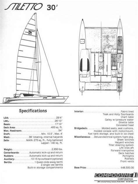 catamaran cross beam design stiletto 30 catamaran pictures to pin on pinterest pinsdaddy