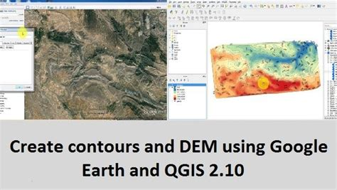 qgis tutorial google earth create contours and dem using google earth and qgis 2 10
