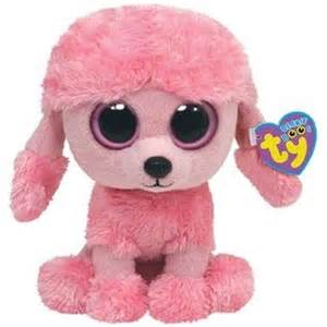 Benny Barnes 10 Quot Ty Beanie Boo S Baby Pink Poodle Puppy Dog Quot Princess
