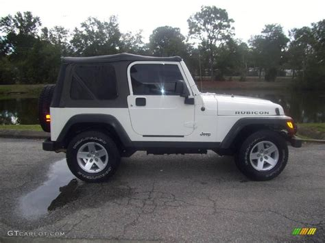 white jeep rubicon image gallery 2005 white jeep