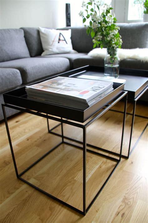 Hay Tray Table by Hay Tray Table Zwart Idee Per La Casa