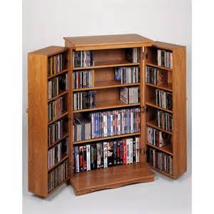 Media Storage Cabinet Media Storage Cabinets Classic Mission Style Multimedia Cabinets By Leslie Dame
