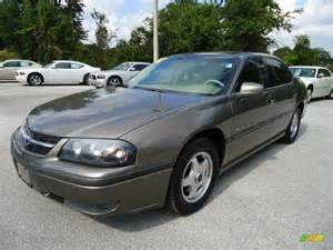 2002 medium bronzemist metallic chevrolet impala ls