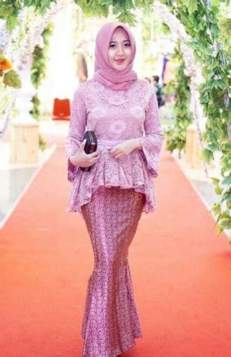kebaya gaun modern muslim remaja sepatu remaja trend fashion gaun terbaru 2014 referensi model baju