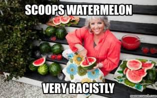 Watermelon Meme - racist watermelon