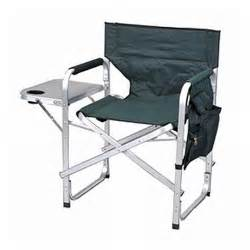 stylish camping folding full back director s chair