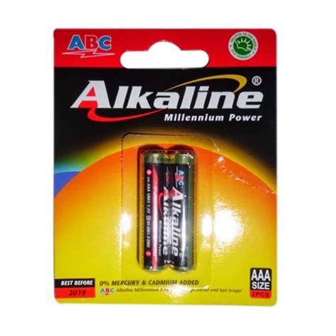 Baterai Alkaline Aaa jual alkaline abc aaa hitam baterai kamera 2 pcs
