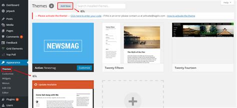membuat web wordpress cara membuat website dengan wordpress self hosted