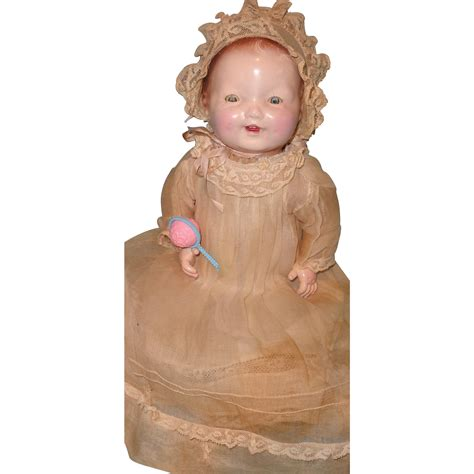 composition baby doll early factory original arranbee composition baby doll from