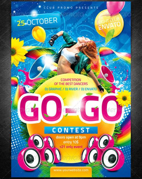 competition flyer template free the big list top 100 flyer templates for 2011