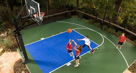 best backyard basketball court basketball court construction gym flooring home