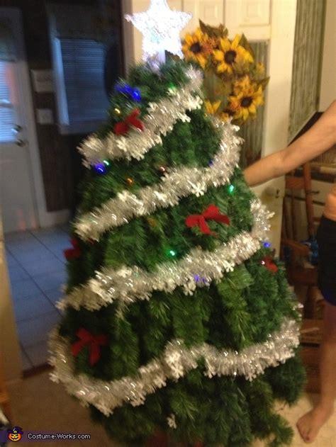 christmas for halloween christmas tree costume