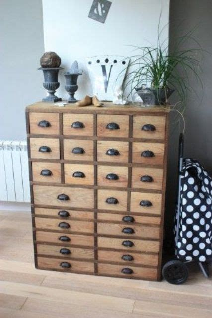 apothecary drawers ikea 27 cool ways to use an apothecary cabinet in your interior