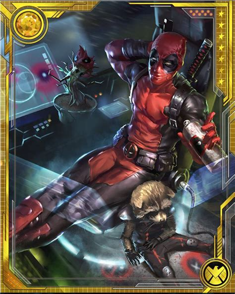 marvel woh card template what if deadpool marvel war of heroes wiki fandom