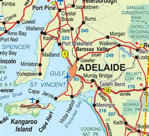 Car Hire Adelaide Southern Suburbs Adelaide Map Map Of Adelaide