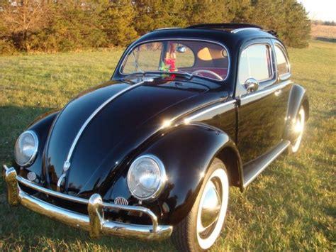 vw volkswagen ragtop beetle oval bug  semaphores  sale  technical
