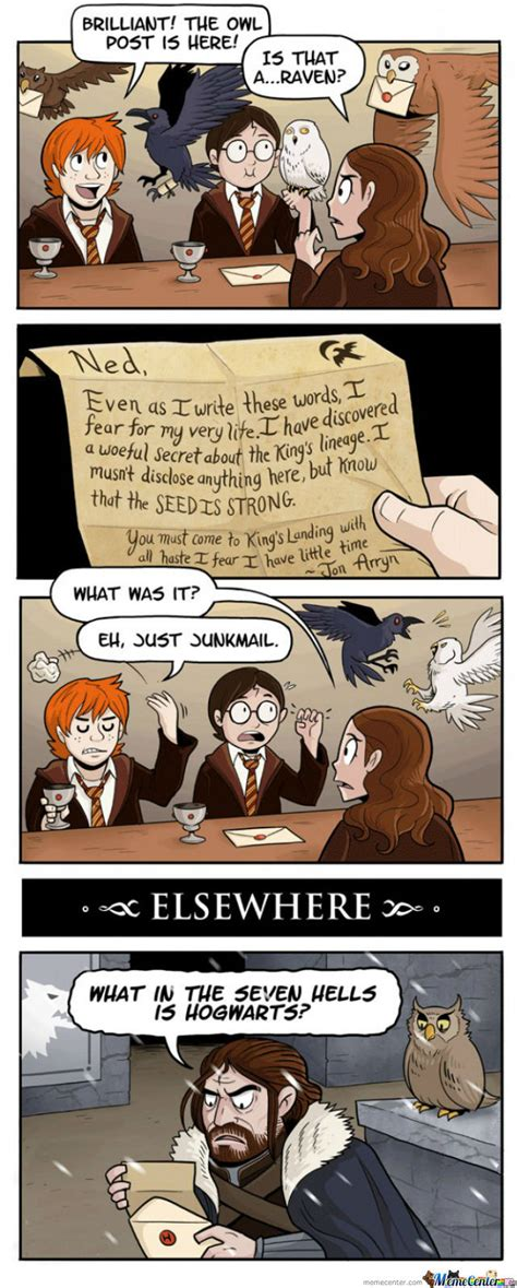 Hogwarts Acceptance Letter Meme A Letter From Hogwarts By Diediebydie Meme Center