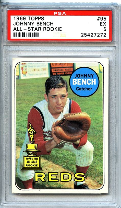 johnny bench rookie card johnny bench rookie card 28 images lot detail 1968 topps 247 reds rookies johnny