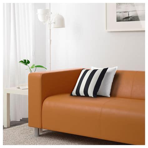 Klippan Two Seat Sofa Kimstad Light Brown Ikea Ikea Klippan Sofa