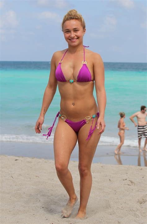 Hayden Panettiere Shows Off Bikini Curves On Easter Break In Florida Aol Uk Travel