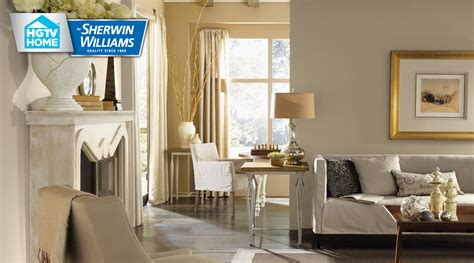 neutral nuance color palette hgtv home  sherwin williams