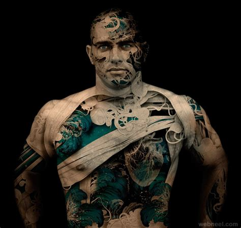 body manipulations tattoo 25 creative photo manipulation works and digital art works