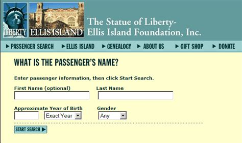 Ellis Island Records Using Ellis Island Records To Find Relatives For Free