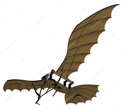 macchina volante di leonardo da vinci vecteur de antique machine volante de leonardo da vinci